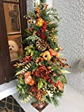 """Thanksgiving Topiary, Fall Topiary, Autumn Decoration, 42"""", FREE SHIPPING"""