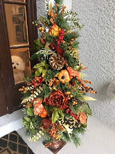 Thanksgiving Topiary, Fall Topiary, Autumn Decoration, 42