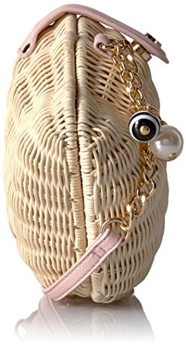 the Crossbody Betsey Shell Johnson What Wicker Tan Straw 7nHYAp