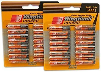 Pack Grande 32 Pilas AAA 1,5V (Kingtianli): Amazon.es: Electrónica