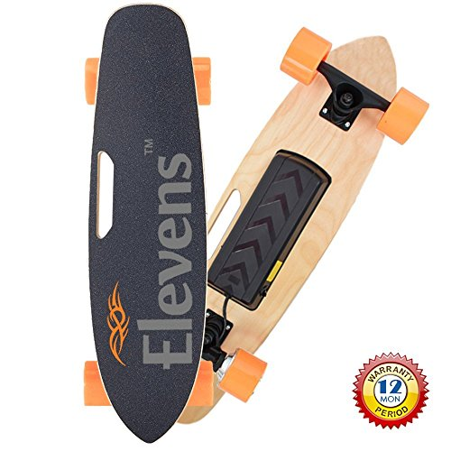 Review Of 28 Electric Longboard Skateboard Bluetooth Remote Control 120w Hub Motor 12mph Max Speed
