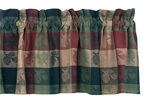 Park Designs Pinecone Valance, 72 by - Pinecone Design