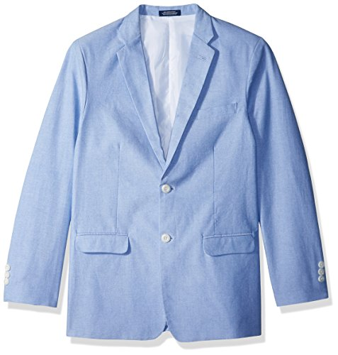 IZOD Big Boys' Blazer Suit Jacket, Oxford Medium Blue, ()