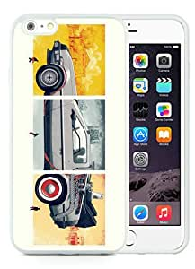 Genuine iPhone 6 Plus/6S Plus 5.5 inches Back To The Future White Screen TPU Phone Case Fashion and Luxury Design