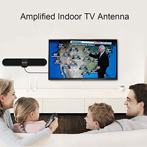free shipping hdtv indoor antenna for high reception homeworx antenna hd antenna 50 miles range. Black Bedroom Furniture Sets. Home Design Ideas