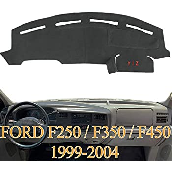 DashMat Ltd Ed Polyester, Gray Dashboard Cover Ford Super Duty Pickup