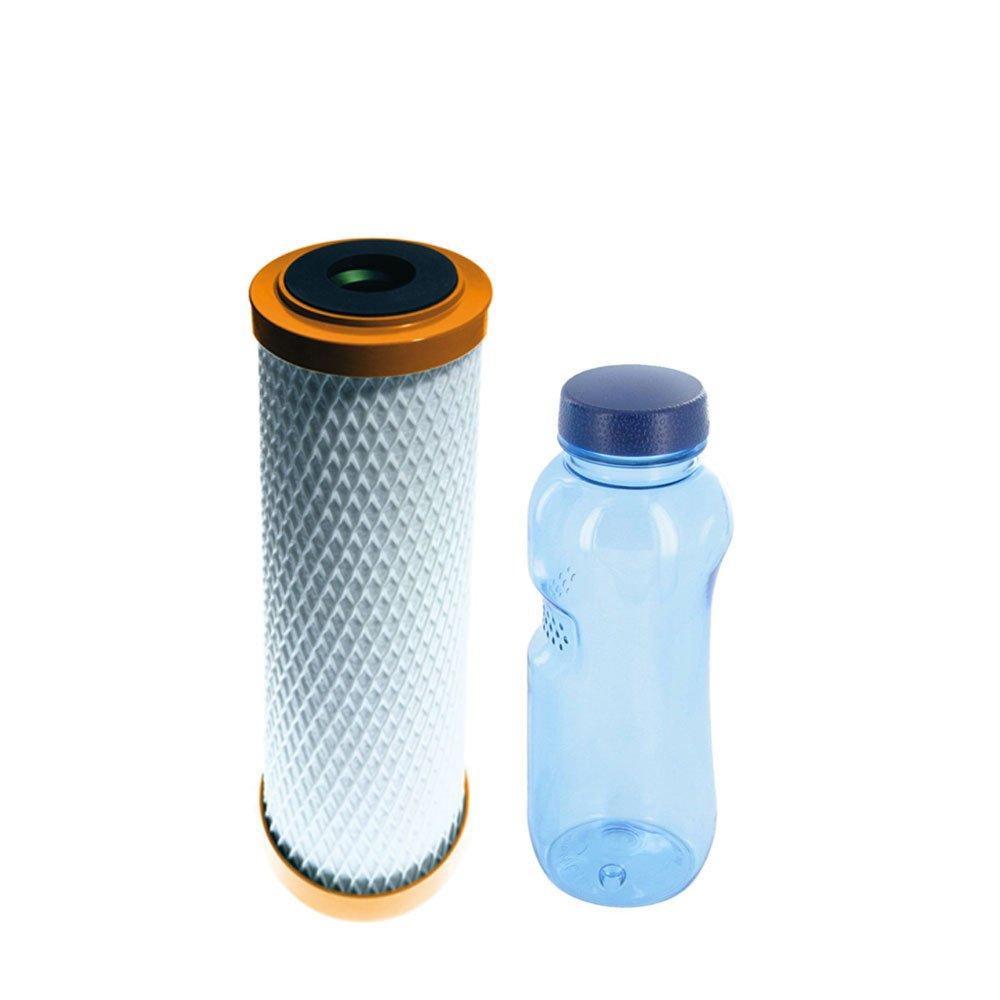 CARBONIT®IFP Puro Wasserfilterpatrone & Tritan Trinkflasche 0,5l BPA frei