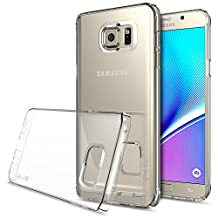 Galaxy Note 5 Case - Ringke SLIM ***Top and Bottom Coverage*** [CRYSTAL][FREE HD Film] Advanced Dual Coating Technology All Around Protection Hard Case for Samsung Galaxy Note 5