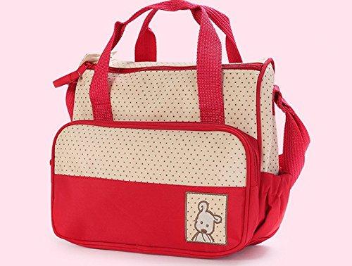 SORA H® kits Bolsa de Mama Para Bebe Biberon Bolso/Bolsa/Bolsillo Maternal Bebé para carro carrito biberón colchoneta comida pañal de color azul: Amazon.es: ...
