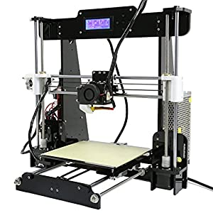 Auto Levelling Anet A8 with Included Filament - Prusa i3 DIY 3D Printer w/ Self Levelling Sensor by Anet