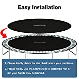 """SPORTYOUTH Trampoline Replacement Mat 159"""" Wide 96"""