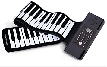 Piano Portátil Flexible De 88 Teclas Con Teclado Suave USB Plegable, Enviar Un Pedal De Sostenido: Amazon.es: Instrumentos musicales