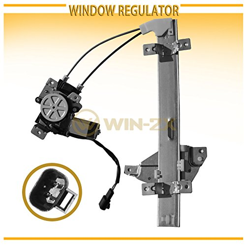 Buick Passenger Side Regulator - WIN-2X New 1pc Rear Passenger (Right) Side Power Window Regulator & Motor Assembly Fit 97-05 Buick Century 97-04 Regal 98-02 Oldsmobile Intrigue