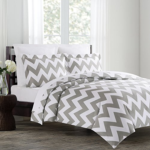 bed set home amazon teal comforter dp com chevron full bedding piece kitchen