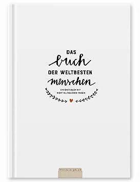 Witziges Gästebuch mit Fragen zum Ausfüllen | Freundebuch für Erwachsene | Hochzeitsgästebuch zum Schreiben & Malen | klimane