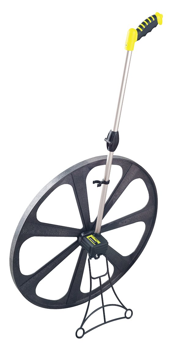 Komelon MK79M Measuring Wheel for Meters, 25-Inch, Hi-Viz Yellow