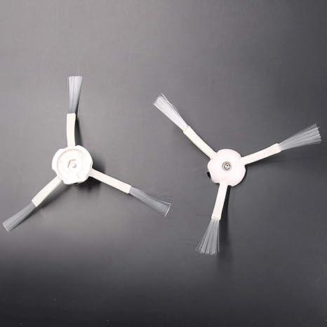 Cepillo lateral giratorio de 3 brazos, accesorios de repuesto para ...