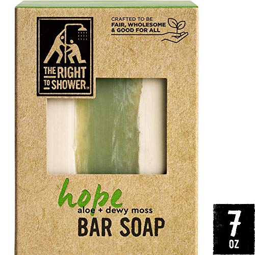 (The Right To Shower Bar Soap, Hope, 7 Ounce)