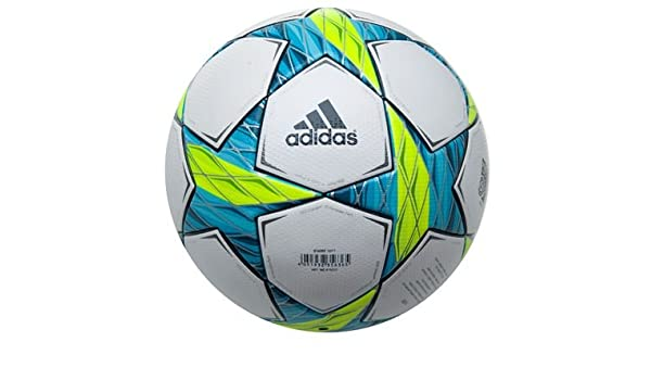 adidas x10555 Finale Munich - Balón de fútbol white/slime/super ...