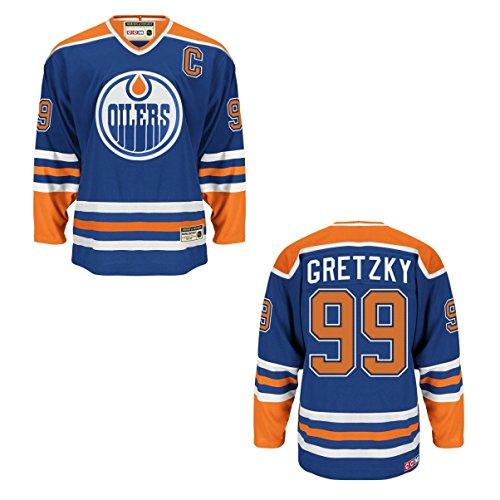 CCM Edmonton Oilers Wayne Gretzky Blue Heroes of Hockey Jersey – DiZiSports Store