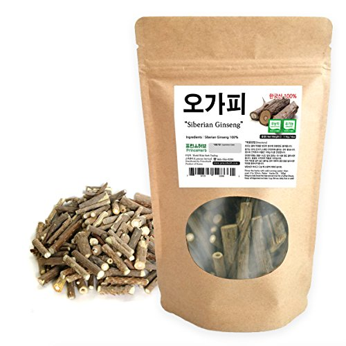 [Medicinal Korean Herb] Siberian Ginseng (Eleuthero/Ciwujia / 오가피) Dried Bulk Herbs 4oz (113g)