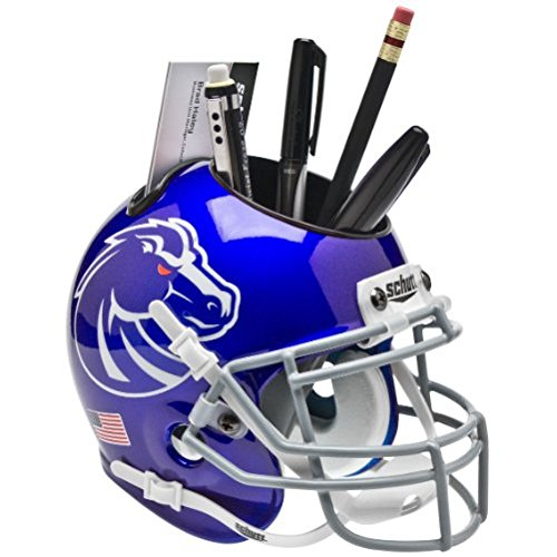 NCAA Boise State Broncos Helmet Desk (Broncos Office Accessories)