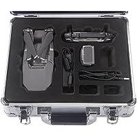 Aluminum Case For DJI Mavic Pro Drone Waterproof Hardshell Carrying Bag Silver