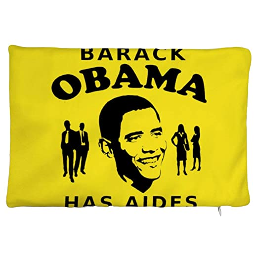 Barack Obama Tiene una Interesante Funda de Almohada, Cerca ...