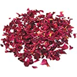 Sonline 1 Bag of Dried Rose Petals Flowers Natural Wedding Table Confetti Pot