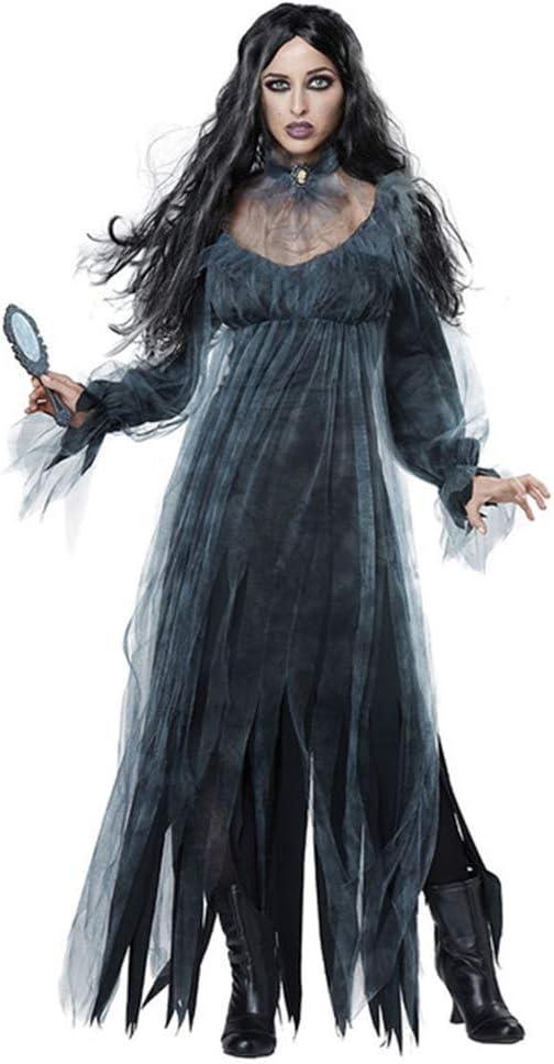 Hlidpu Disfraz De Novia del Cuerpo Muerto De Halloween Vestido ...