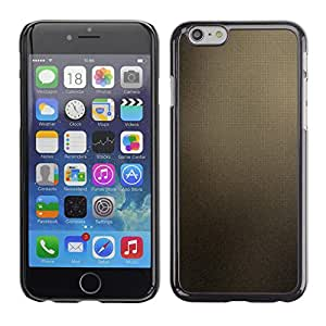 A-type Arte & diseño plástico duro Fundas Cover Cubre Hard Case Cover para Apple Iphone 6 Plus 5.5 (Marrón Azulejos)