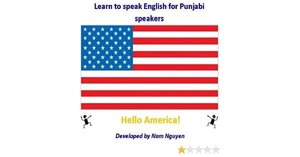 Amazon com: Learn to Speak English for Punjabi Speakers eBook: Nam