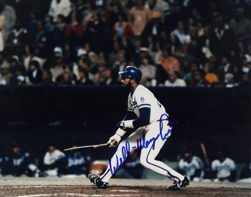 Autographed Willie Mays Photo - AIKENS KANSAS CITY ROYALS 8x10 - Autographed MLB Photos - Willie Mays Autographed Photo