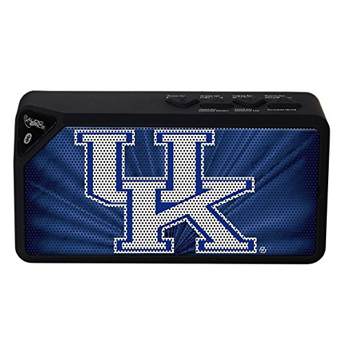 NCAA Kentucky Wildcats BX-100 Bluetooth Speaker, Black Kentucky Wildcats Player
