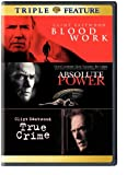 Blood Work & Absolute Power & True Crime