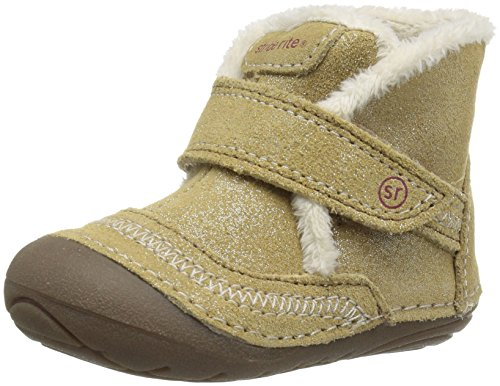 Stride Rite Soft Motion Constance Boot (Infant/Toddler), Taupe, 3 M US Infant