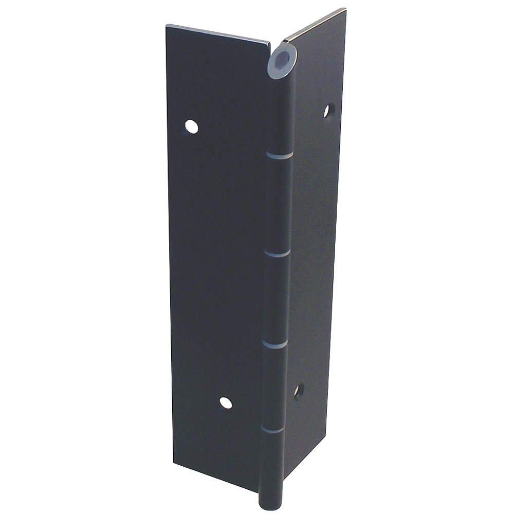 Markar - FM100-001-313-HT-MP - 180 Continuous Hinge With Holes, Dark Bronze Finish, 84 x 2-1/16