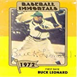 Buck Leonard Autograph/Signed 1972 Baseball Immortals