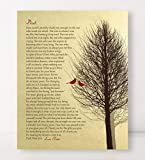 Gift DAD Who Has Everything to Dad Gift Personalized Heartfelt Poem Faux Gold