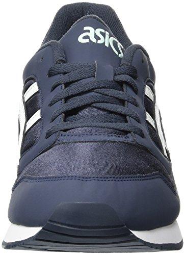 Asics Gel-Atlanis, Zapatillas de Gimnasia Unisex Adulto Blu (India Ink/White)