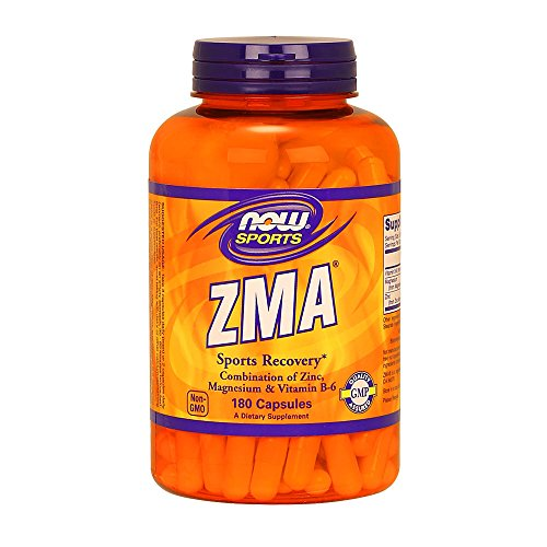 NOW Sports ZMA 180 Capsules product image