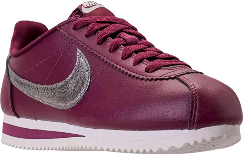 Nike Classic Cortez Premium bordeaux Chaussures Baskets