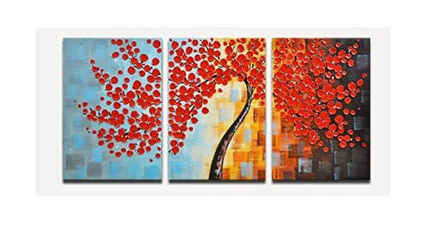 FAYM-Salón Continental Cuadros Decorativos Pintados a Mano, Pinturas al óleo Pintado a Mano,Caja Pintura,40cm*60cm.: Amazon.es: Hogar