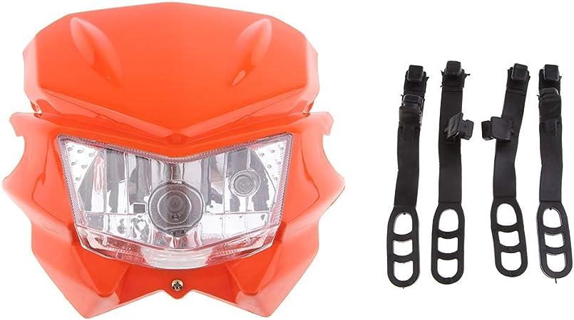 Naranja Faros de Motocicleta 12V Para KTM EXC XC MXC 250 450 525