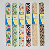 RULER PLASTIC 6AST FASHION PRNTS 12IN/30CM EA W/WRAP CARD, Case Pack of 36