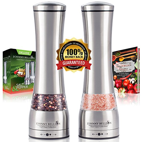 Premium Salt Pepper Grinder Set