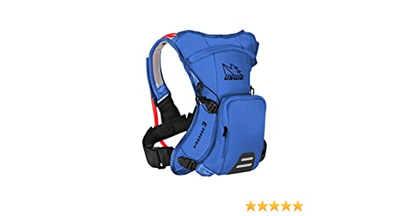 524c2542f038 Amazon.com : Uswe Race Blue Airborne 3 - 3 Litre Hydration Pack With ...