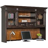 Martin Furniture Hartford Hutch, Brown - Fully Assembled