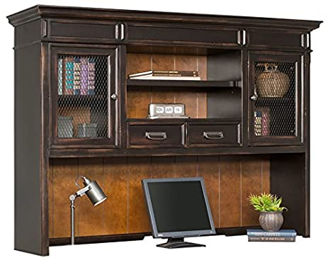 Martin Furniture Hartford Hutch, Brown   Fully Assembled