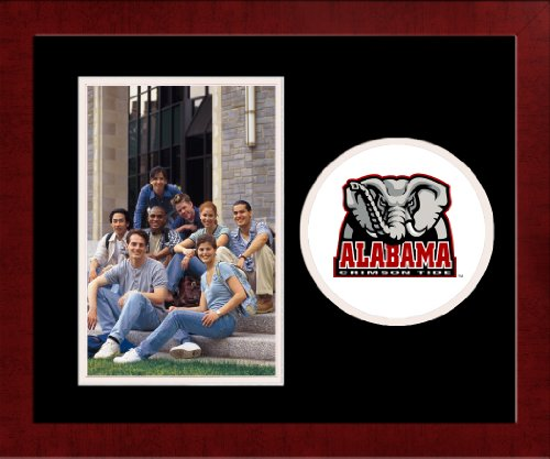 Campus Images NCAA Alabama Crimson Tide University Spirit Photo Frame (Vertical) (University Crimson Ncaa Alabama Tide)